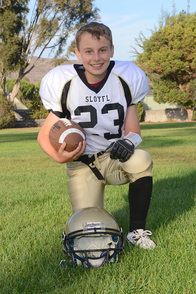 Max Lober - 6th year in Youth Football