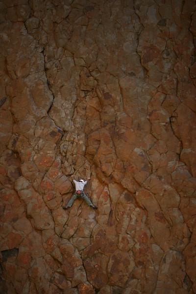 Climbing in Tenerife