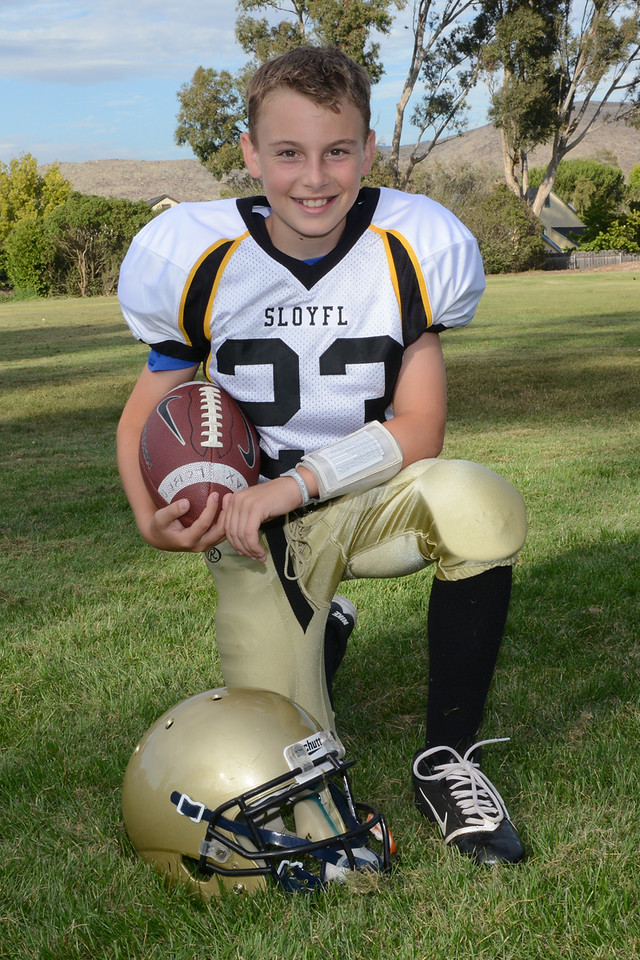 Max Lober - 5th year in Youth Football