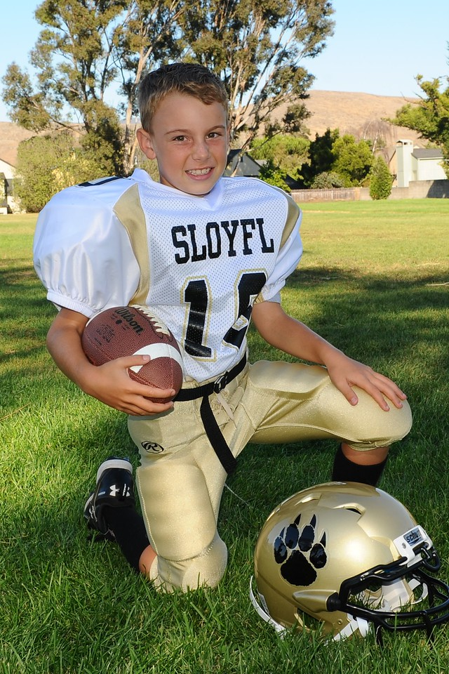 Max Lober - 2nd year in Youth Football