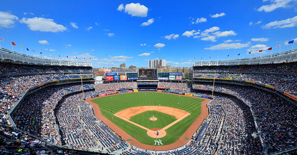 The Big Ball Park in the Bronx - Yankee Stadium 2015