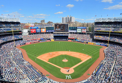 A beautiful day in the Bronx.