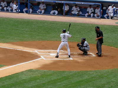 Now batting for New York, #2 Derek Jeter