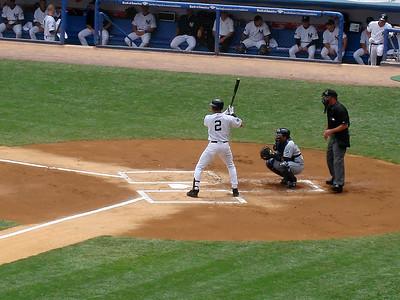 Now batting for New York, #2 Derek Jeter
