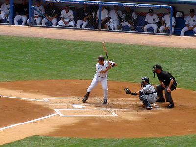 Now batting for New York, #20 Jorge Posada