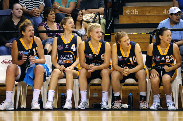 WNBL Grand Final Flames v Lightning 8th March, 2008