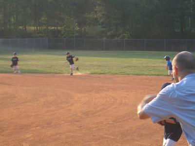 Adan's First t-ball game
