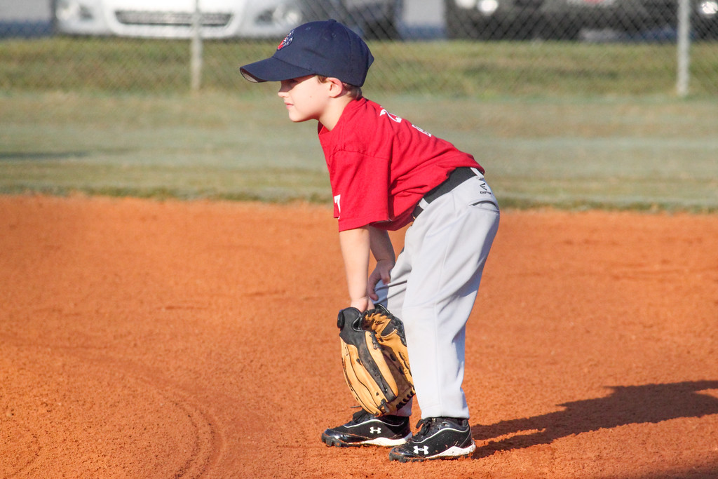 Zach ready playing second base