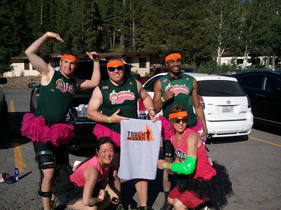 ToughMudder team at Squaw Valley, 2011.