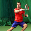 Toby Martin of Cheshunt at the Aegon GB Pro-Series Wirral - Feb 2014