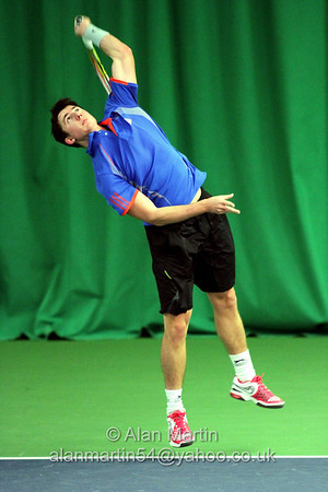 Tom Allen at the Aegon GB Pro-Series Wirral - Feb 2014