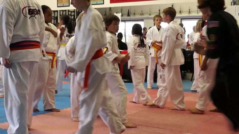 Aidan Karate Test May 2013