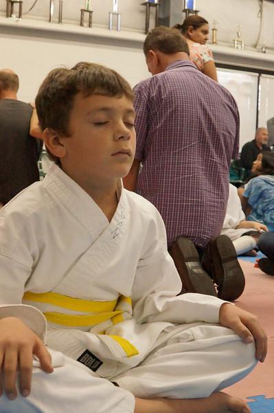 Aidan Karate Test Nov 2012