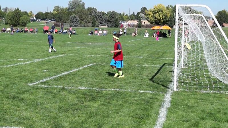 Aidan Soccer Fall 2014