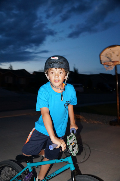 Aidan back on BMX 2013