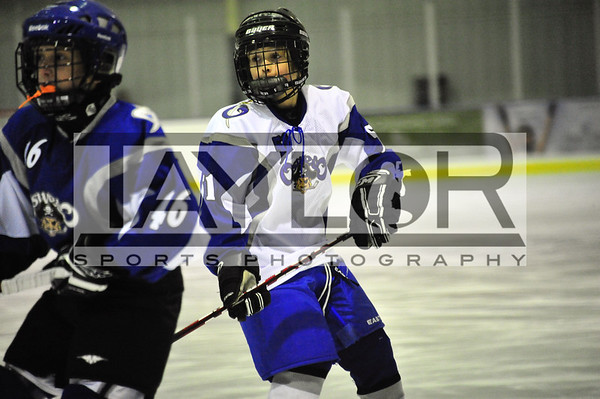 Aidan's Squirt Hockey vs Oswego