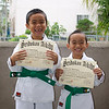 We got our green belts! JMLx2!!