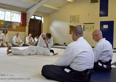 01/10/05 - Aikido Circle Grading