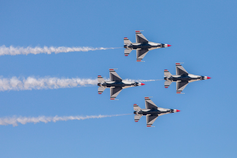 Nellis AFB, NV, 2016, Thunderbirds