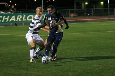 2011 NCAA D1 Men's Soccer Sweet 16 - The University of Akron (0) @ UNC Charlotte (1)