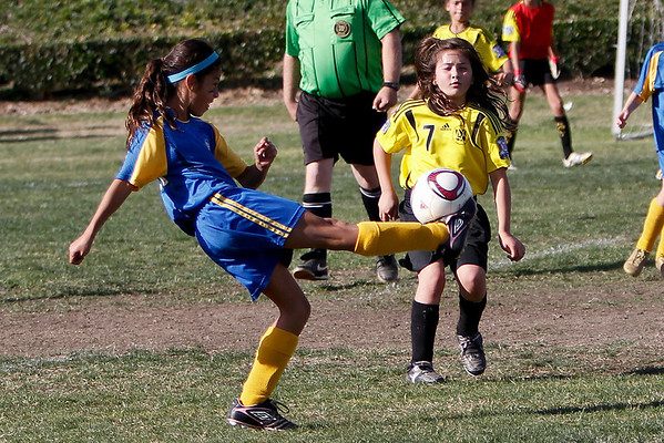 Alana's Soccer Tournament Fountain Valley, 2012