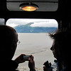 Taking shots from between the cars on the train to Seward