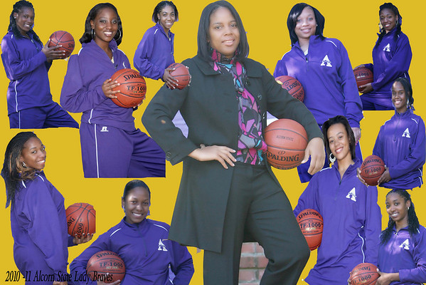 The renowned Alcorn Lady Braves