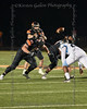 Aledo quarterback #9 Brant Hayden anticipates the ball after a deep snap.