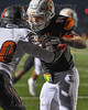 Aledo TE #84 Dylan Ward  puts a block his opponent.