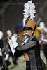A Flute soloist for the Aledo marching band.