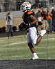 Aledo WR #1 JoJo Earle crosses the goal line for another touchdown.