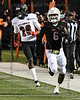 On the loose again, Aledo RB #6 DeMarco Roberts.