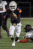 Aledo RB #6 DeMarco Roberts takes off on a long gain for the Bearcats.