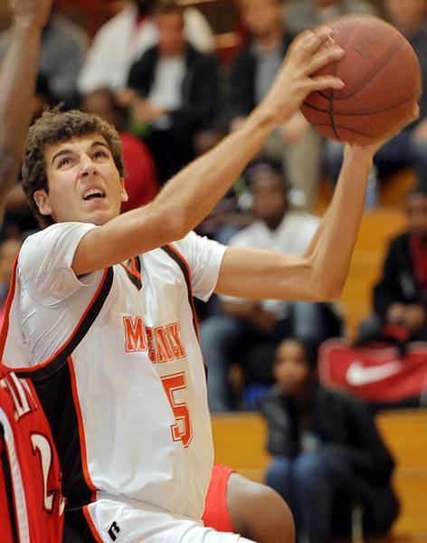 Former Mauldin High School basketball standout, Alex Hyman, in action on the hardwood.<br /> GWINN DAVIS PHOTOS<br /> gwinndavis@gmail.com  (e-mail) <br /> (864) 915-0411 (cell)<br /> gwinndavisphotos.com (website)<br /> Gwinn Davis (FaceBook)