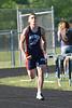 Matt running anchor in 4x100.