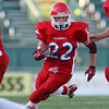 """<span style=""""color:#E3170D"""">Hornell Red Raiders #22</span> Player of the Year and First Team AGR  Class B Offensive Player of the Year: Austin Dwyer (Hornell)"""