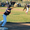 Start of a Victorville Double Play
