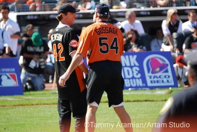 Gavin Newsom and Goose Gossage shoot the bull