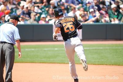 Nostrand hits a home run