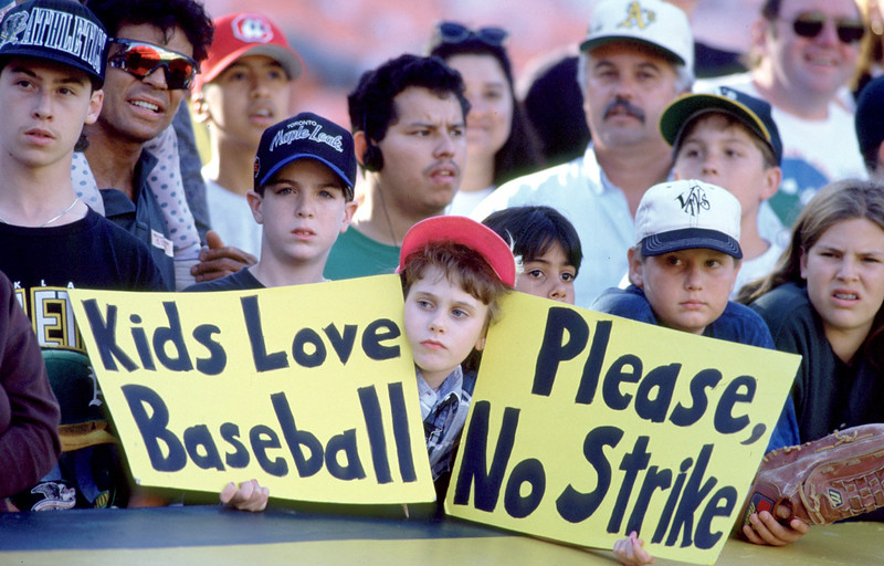 an examination of the infamous 1994 striking of baseball players The lords of the realm has 531 between baseball owners and the players through the infamous 1994 strike -- uses baseball as a lens.
