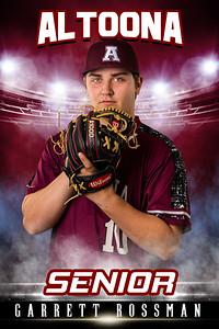 Garrett Rossman Altoona Baseball Banners 2021