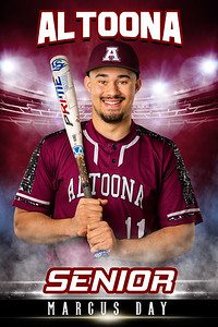 Marcus Day Altoona Baseball Banners 2021