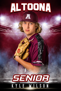 Kyle Wilson Altoona Baseball Banners 2021