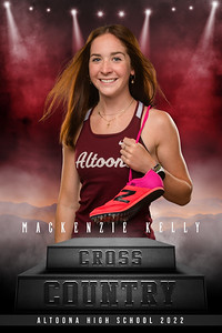 Mackenzie Kelley  Altoona XC Ind Banners 2021_48x72_banner
