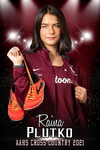 Raina Plutko Cross Country Senior Banner 2021