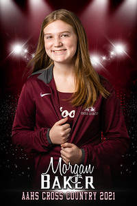 Morgan Baker Cross Country Senior Banner 2021