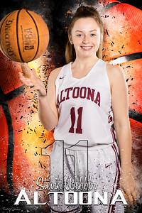 Stevie 2 AAHS Girls Basketball Banners 2020