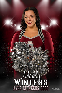 Maddy Winters NEW 0136Lioneers Senior Banner 2022