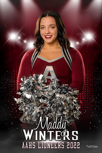 Maddy Winters Lioneers Senior Banner 2022