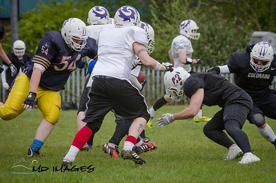 Defence vs Offence Scrimmage-19